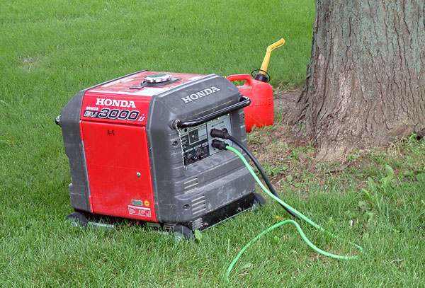 The Honda 3,000 watt generator
