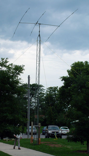 Triband beam up 30 feet